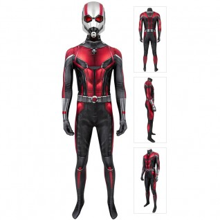 Ant-Man And The Wasp Scott Lang Cosplay Suit Ant Man Jumpsuit