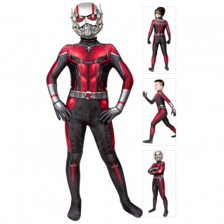 Kids Ant-Man And The Wasp Scott Lang Cosplay Suit Ant Man Jumpsuit