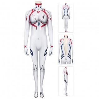 EVA Asuka Langley Soryu Cosplay Costume Jumpsuit For Adutl