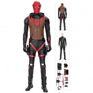 Batman Jason Todd Costume Gotham Knights Red Hood Cosplay Costumes