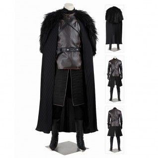 A Song Of Ice And Fire Jon Snow Costume Game Of Thrones Cosplay Suit