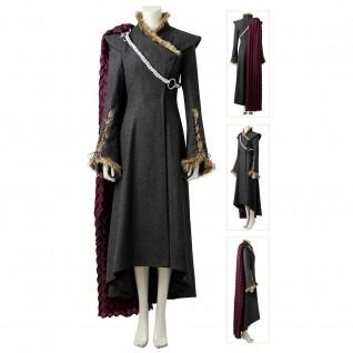 Daenerys Targaryen Costume Game Of Thrones Season 7 Cosplay Suit