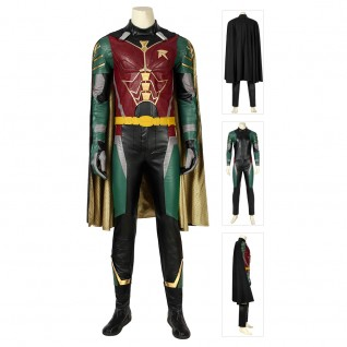 Robin Costume Titans Dick Grayson Cosplay Suits