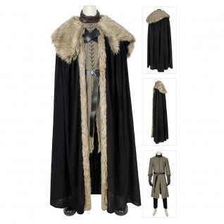 Jon Snow Costume Game Of Thrones 8 Cosplay Suits