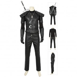 Geralt Of Rivia Costume American Drama The Witcher Cosplay Suits
