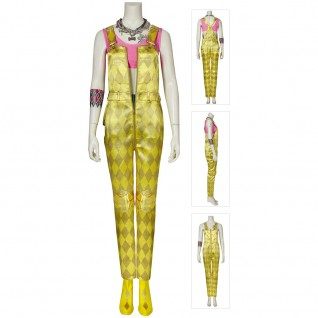Harley Quinn Yellow Costume Birds Of Prey Cosplay Suits
