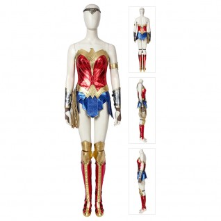 Wonder Woman 1984 Diana Prince Cosplay Costumes Outfit