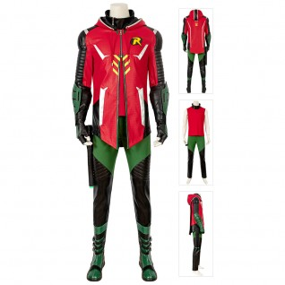 Robin Costumes Batman Gotham Knights Cosplay Suits