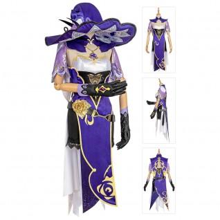 Lisa Cosplay Costume Genshin Impact Cosplay Suits