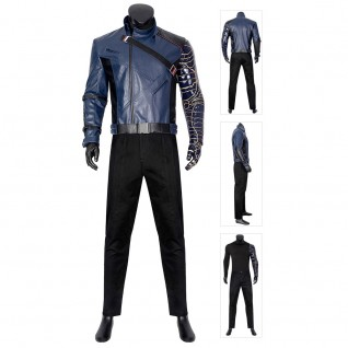 Bucky Barnes Costume The Falcon and the Winter Soldier Cosplay Suits