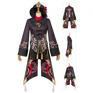 Hu Tao Costume Genshin Impact Cosplay Suits