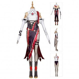 Rosaria Costume Genshin Impact Cosplay Suits