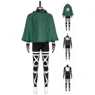 The Survey Corps Levi Ackerman costume Attack On Titan Final Season Cosplay Suits