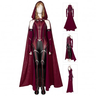 Scarlet Witch Wanda Costume Wanda Vision Cosplay Suits