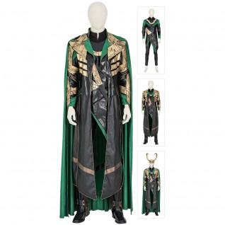 Loki Cosplay Costumes 2021 TV Loki Laufeyson Armor Cosplay Suit Top Level