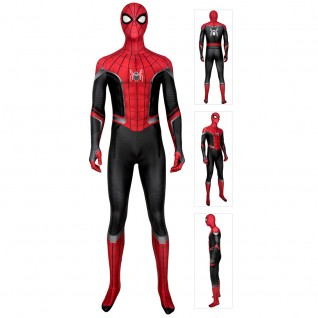 Spiderman Peter Parker Costume Spider-Man Far From Home Jumpsuit