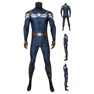 Captain America Steve Rogers Costume Captain America Jumpsuit
