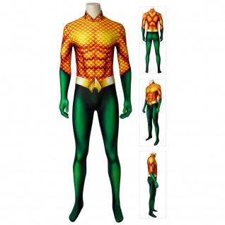 Arthur Curry Costume Aquaman Cosplay Suits