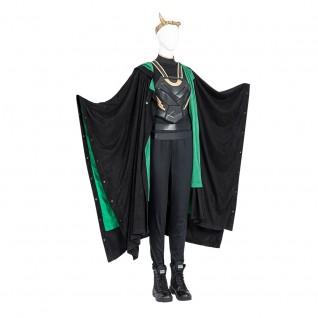 Female Loki Cosplay Costumes Loki Sylvie Lushton Cosplay Suit