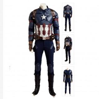 Steve Rogers Costume Captain America 3 Civil War Cosplay Suits