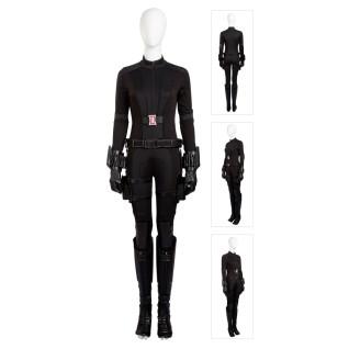 Black Widow Natasha Romanoff Costume Captain America 3 Civil War Cosplay Suits