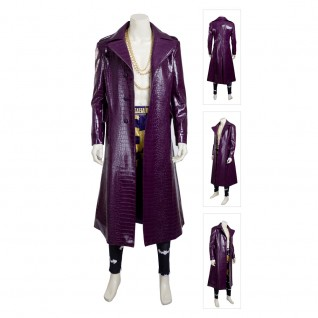 Joker Costume Suicide Squad Cosplay Suits New Version