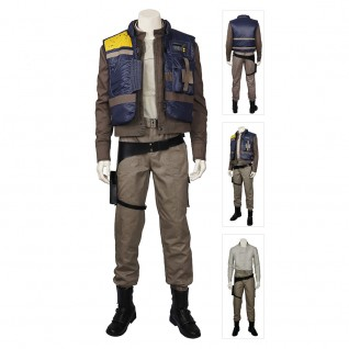 Cassian Andor Costume Rogue One A Star Wars Cosplay Suits