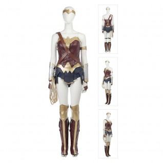 Diana Prince Costume Wonder Woman Full Set Cosplay Suits