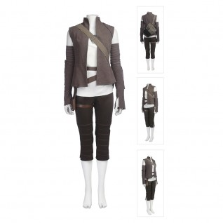 Rey Costume Star Wars 8 Cosplay Suits