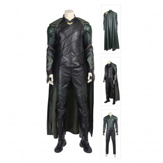 Loki Costume Thor 3 Ragnarok Cosplay Suits