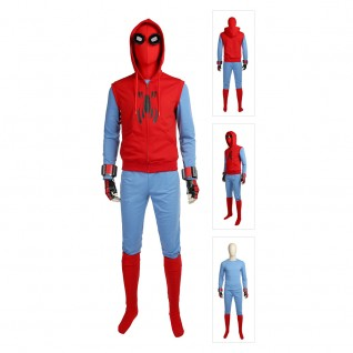 Spiderman Cosplay Deluxe Suit Spider-Man Homecoming Peter Park Cosplay Costume