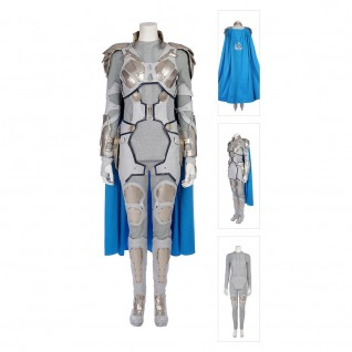 Thor Ragnarok Valkyrie Cosplay Costume Full Set