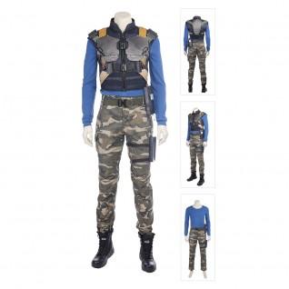Black Panther Erik Killmonger Cosplay Costume Outfit