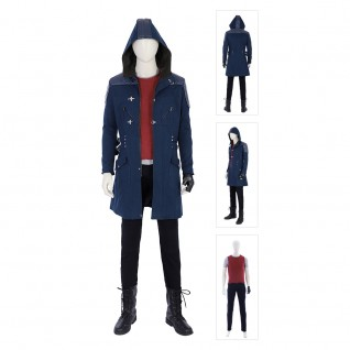 DMC5 Nero Costume Game Devil May Cry 5 Cosplay Suits
