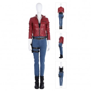 Claire Redfield Costume Resident Evil 2 Cosplay Suits