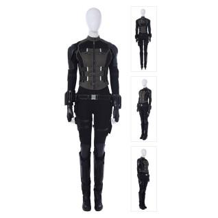 Black Widow Costume The Avengers Natasha Romanoff Cosplay Suit