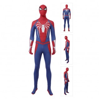 Spiderman Suit Spider-Man PS4 Cosplay Costume
