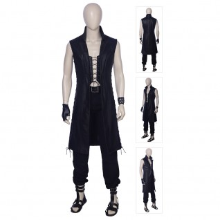 Devil May Cry 5 V Mysterious Man Cosplay Costume Outfit