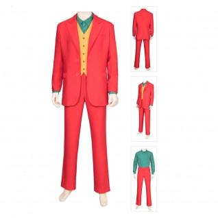 Joker Red Cosplay Costume Outfit