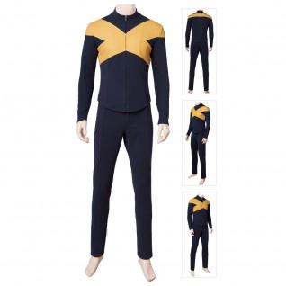 X-Men Dark Phoenix Scott Summers Cosplay Costumes Outfit Men