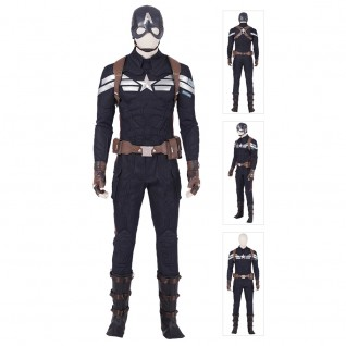 Captain America Cosplay Costume Avengers 4 Endgame Steve Rogers Cosplay Suits