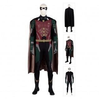 Titans Robin Costume Batman Boy Wonder Cosplay Suits