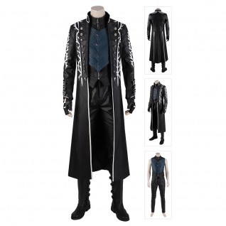 Vergil Costume Devil May Cry 5 Cosplay Suits