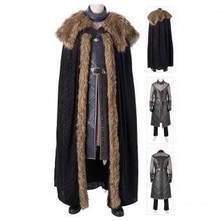 Jon Snow Costume Game Of Thrones Season 8 Cosplay Suits