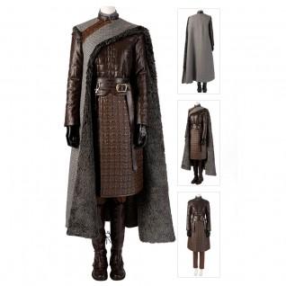 Arya Stark Costume Game Of Thrones Season 8 Cosplay Suits
