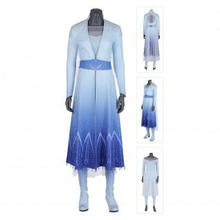 Elsa Cosplay Costumes Frozen 2 Cosplay Suits