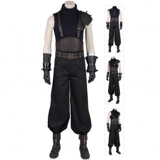 Cloud Strife Cosplay Costumes Final Fantasy VII Remake Cosplay Suits
