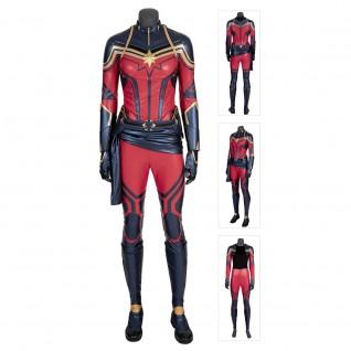 Captain Marvel Cosplay Costume Avengers Endgame Carol Danver Cosplay Suit