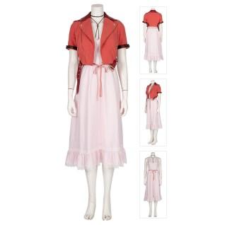 Final Fantasy VII Remake Alice Aerith Gainsborough Cosplay Costume