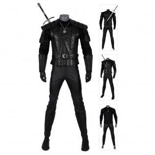 Geralt of Rivia Cosplay Costumes The Witcher Cosplay Suits